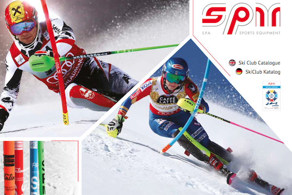 SPM Ski club catalogue
